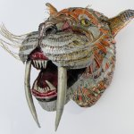 Endangered & Extinct: Recycled Sculptures by Val Hunt