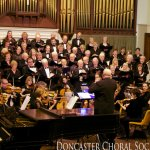 Doncaster Choral society in performance