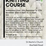 Beginners Knitting Course