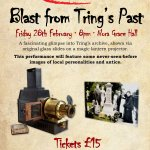 Blast from Tring's Past