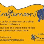 Crafternoon Fundraiser for Mind