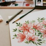 Drawing & Painting - Floral, Botanical and Watercolours