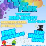 Fun in the Park- Potters Bar