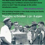 Getting started with your Caribbean family history (online event