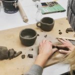 Handmade Ceramic Pottery with Elizabeth Cahill- Day time