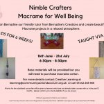 Macrame for Wellbeing - Beginner Course