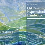 Oil Painting Expressionist Landscape