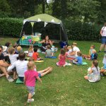 Storytime with Outdoor Games