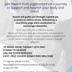 Yoganurture FULLY FUNDED course