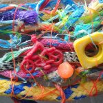 Easy Rider - section from flotsam weaving