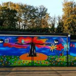 School Mural - North London