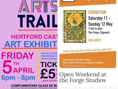 April Events - a busy month in Hertfordshire