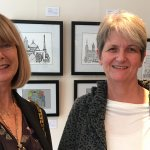 First Artist at new Hertford Town and Tourist Information Centre