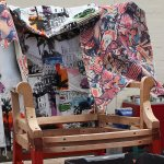 New up-cycled wing back arm chair projects in progress