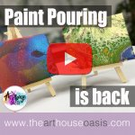 Paint Pouring comes back to Hertfordshire