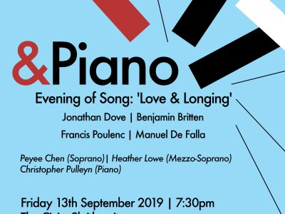 &Piano 2019 Event 2 - Evening of Song: Love & Longing