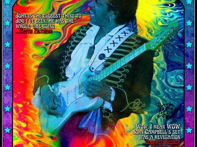 Are You Experienced? Europes' No1 Jimi Hendrix tribute special