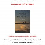 Author - D.R. Dixon appearing at Denby Dale Community Library