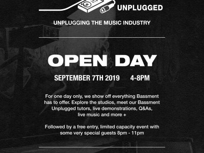 Bassment Unplugged Open Day