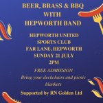 Beer, Brass & BBQ with Hepworth Band