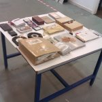 Bookbinding Workshop at All Good in the Hudd