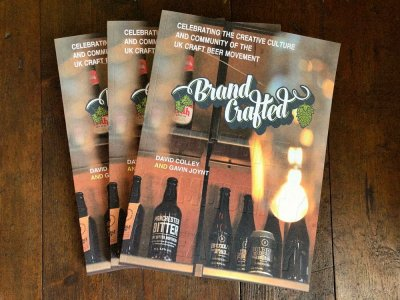Brand Crafted - craft beer book event at Read Holmfirth