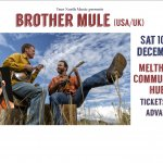 Brother Mule (USA/UK trio) concert in Meltham
