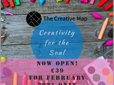 Creativity for the Soul - half-price February offer