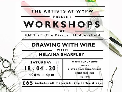Drawing with Wire with Helaina Sharpley