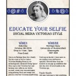 Educate Your Selfie: Social Media Victorian Style
