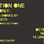 Exhibition One (Local Artists) + Melatron
