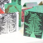 Festive Lino Printing Workshop at Holmfirth Tech, 13/11/19 7-9
