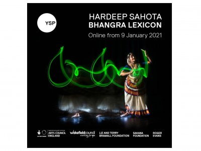 Hardeep Sahota: Bhangra Lexicon Exhibition Online