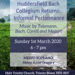 Huddersfield Bach Collegium Returns