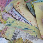Marbling & Book Binding at Globe Arts