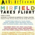 Mirfield Arts Festival: FREE activities @ CAH