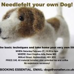 Needle Felting workshop - Heartfelt Dogs.