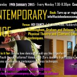 NEW YOUTH  Contemporary Dance Class- Huddersfield