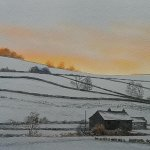 North Yorkshire Snow, A Watercolour Workshop with Jeremy Ford
