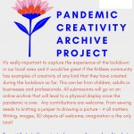 Pandemic Creativity Archive Project