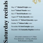 Saturday Morning Recital -Mitchell Wright