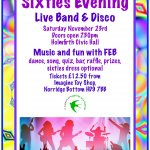 Sixties Evening: fundraiser for HAF 2020