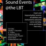 Sound Events @ the LBT / Dec 2018