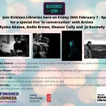 'Sound On' - In Conversation' with 4 Sound Artists