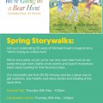 Spring Storywalks: We're Going on a Bear Hunt