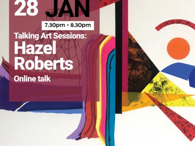 Talking Art with Hazel Roberts