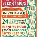 Tropical Vibrations at The Sportsman - Sat 24th Sept