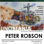 Unobtania by Peter Robson (art exhibition)
