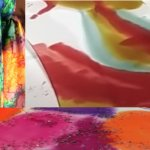 Workshop: Silk Scarf Painting, Bagshaw Museum (session 2)
