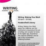 Writing: Making Your Mark ( A pop-up exhibition)
